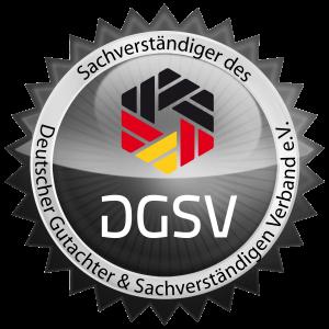 DGSV Siegel silber