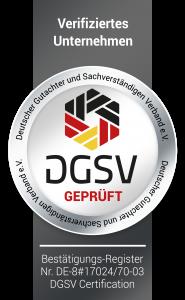 Siegel DGSV Firmen
